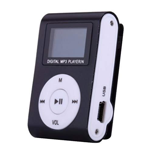 wufeng Courir Sport Mini MP3 USB Portable Clip MP3 Lecteur MP3 écran LCD Support Micro SD TF Design élégant Portable