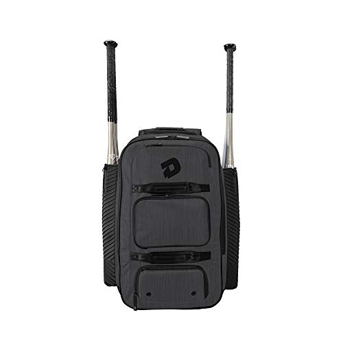 DeMarini Special Ops Spectre Backpack - Charcoal Black
