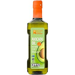 BetterBody Foods 100% Pure Avocado Oil Naturally Refined Cooking Oil Non-GMO 16.9 Ounce Keto & Paleo