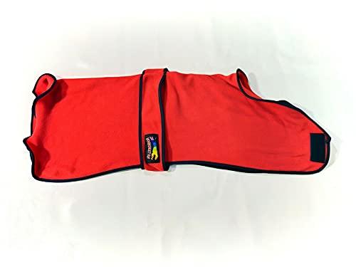 Ropa de cama para mascotas de forro polar cálido doble galgo Whippet Saluki Houndeetah (tamaño 26 pulgadas)