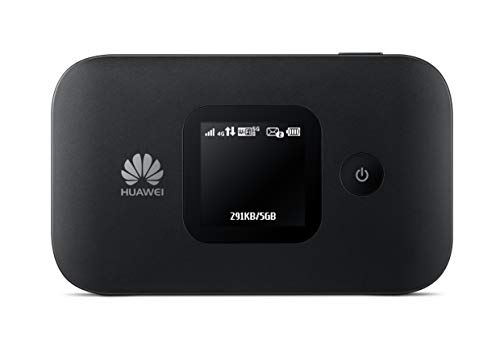 HUAWEI E5577- 4G Low-Cost, Super-Fast Portable Mobile Wi-Fi Hotspot – (Genuine UK Warranty Stock)-...