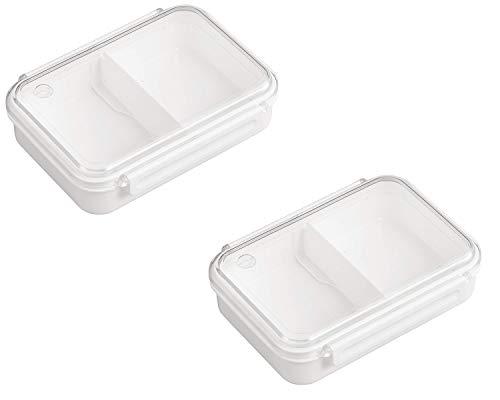 まるごと 冷凍弁当箱 650ml ホワイト (2個セット) レシピなし [作りおきで忙しい朝の味方に] 冷凍保存 レンジ対応 お弁当箱 丸ごと冷凍弁当箱