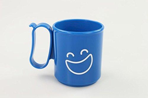 TUPPERWARE To Go Trinkbecher blau Stimmungstasse Becher Tasse Getränketasse