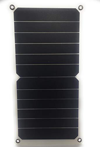 Villageboom Panel solar flexible de 6 W, 5 V, cargador solar portátil ligero Smart Energy para Smart Aid