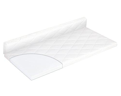 Julius Zöllner 1860090500 - Colchón plegable para cuna rectangular (90 x 50 cm)