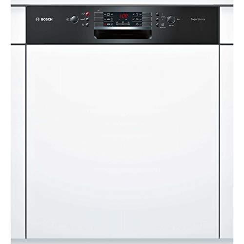 Bosch SMI46IB03E lave-vaisselle Semi intégré 13 places A++ - Lave-vaisselles (Semi intégré, Taille maximum (60 cm), Blanc, Noir, Boutons, LED)