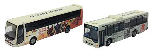 ザ・バスコレクション 小田急箱根高速バス エヴァンゲリオンラッピング2台セット 311324