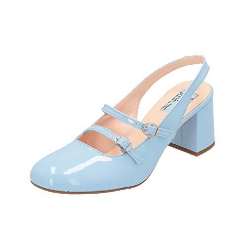 Miss L Fire N/A Damen Pumps Blau High-Heels Stilettos Absatz-Schuhe, Größe:EUR 39