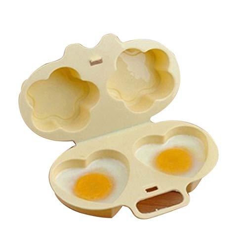 Tree-on-Life Eierkocher-Mikrowellen-Eierkocher-Liebes-Herz-Blumen-Former-Form-Eierkocher, der Werkzeuge Küchengerät kocht