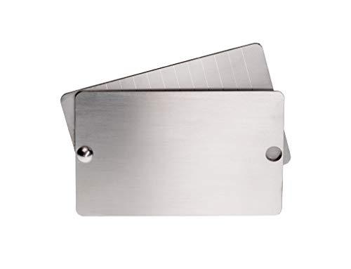 bitcoin steel walllet (double)