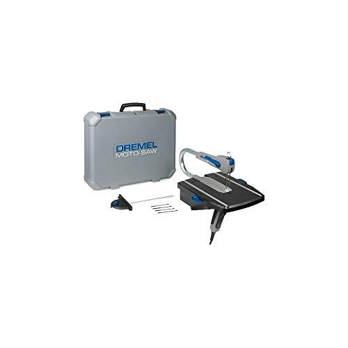 Dremel MotoSaw MS20  Sierra de calar estacionaria 70 W sierra de calar eléctrica con 1 complemento y 5 accesorios