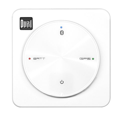 Dual Electronics XGPS10M Multipurpose Universal Marine Bluetooth GPS Receiver with Wide Area Augmentation System and Portable Attachment