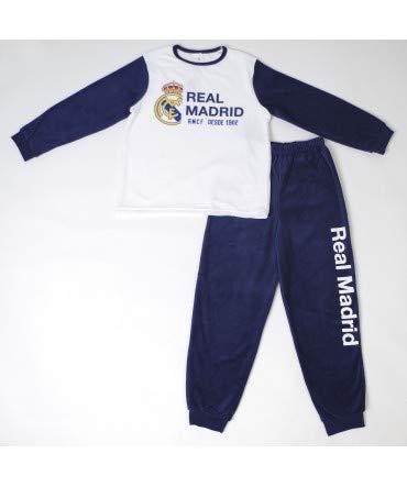 10XDIEZ Pijama niño Real Madrid 205n tondosado - Medidas Albornoces - 16