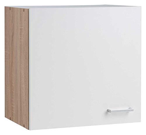 Nicht Zutreffend Küchenschrank Hängeschrank Oberschrank SOLERO 14 | Eiche Sonoma | Weiß | 1 Tür