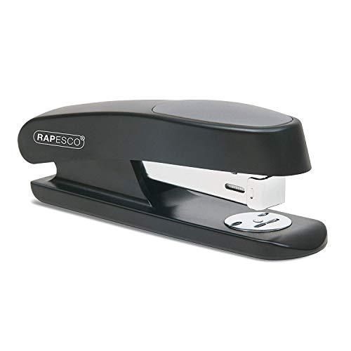 Rapesco RR7260B3 Stapler - Sting Ray, 20-sheet capacity. Uses 26 and 24 6mm staples - Black