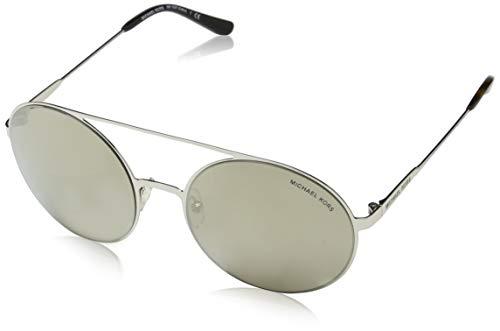 Michael Kors Cabo 10016G 55 Gafas de sol, Plateado (Silver/Tone/Bronzegradientflash), Mujer