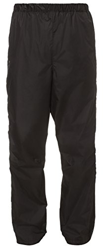 VAUDE Herren Hose Fluid Full-zip II, black, S, 06343