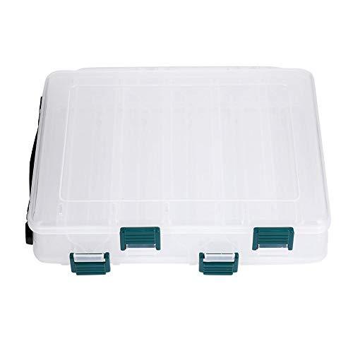 Tbest Box voor aas, aas, haakhouder, lok, opbergdoos, visaccessoires, opbergdoos, container, grote capaciteit, accessoires