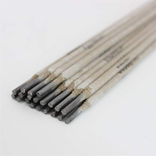 Pilang zxxin-Varillas de Soldadura duraderas, Barras de Soldadura de Arco 10pcs, Longitud 250 mm a 350 mm, electrodos de Acero Suave 1.6mm - 3.2mm E6013 Propósito General