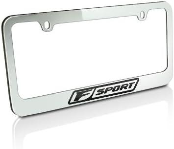 LEXUS Excellent F Sport Chrome Plate Award-winning store Brass Frame License