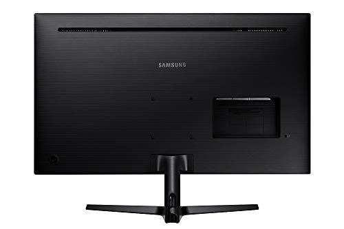 Samsung U32J592UQU (32 inch) monitor (HDMI, 4ms (G / G), UHD, DP, 3.5 mm headphones, 3.840 x 2.160 pixels 270 cd / m²) dark blue gray