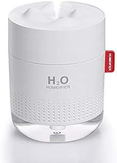 SMARTDEVIL Desk Humidifier Ultrasonic Silent Car Humidifier Sanitization Timing LED Light Bottle Small Air Purifier Preven...