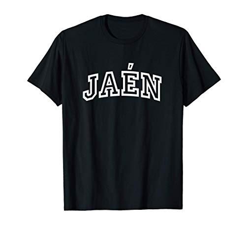 Jaén Vintage Retro Sports Arch Camiseta