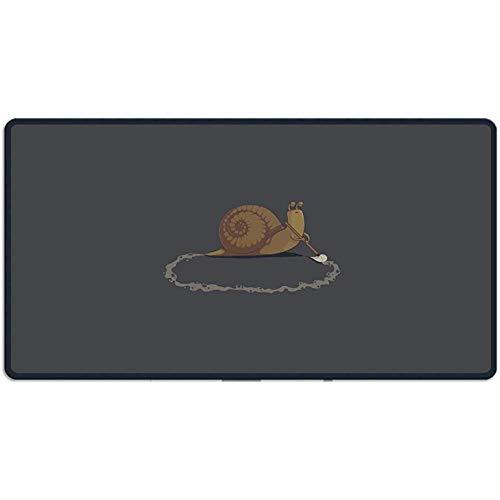 muismat slak schoonmaken gaming muismat op maat ontwerp grote muis mat 40X75Cm voor toetsenbord laptop bureau & meer