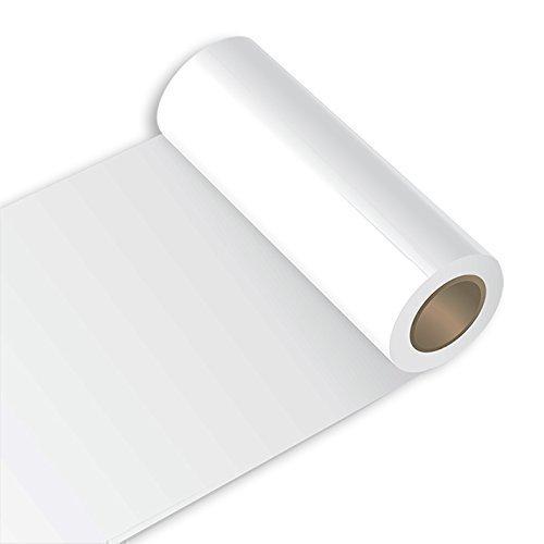 Klebefolie - Oracal 631 - 63cm Rolle - 5m (Laufmeter) - Weiß | matt Autofolie - Möbelfolie - Selbstklebend , 064-gg-63cm-631_1-5m_23