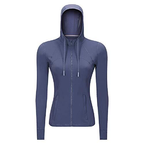 Chaqueta deportiva casual con capucha para mujer de primavera y otoño