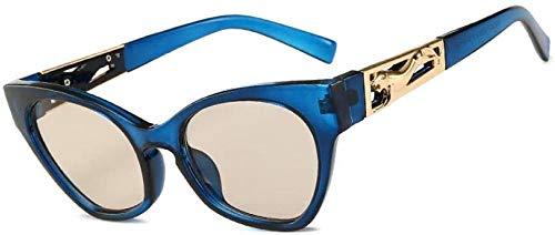 ZYIZEE Gafas de Sol Gafas de Sol de Ojo de Gato para Mujer Lentes de gradiente Vintage Gafas de Sol de Ojo de Gato para Hombres Uv400 Shades-C05