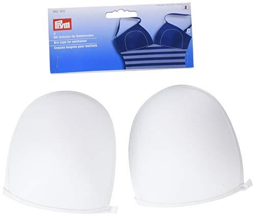 PRYM Größe C 2-teilig 100Prozent Polyester BH-Cups für Bademoden, weiß