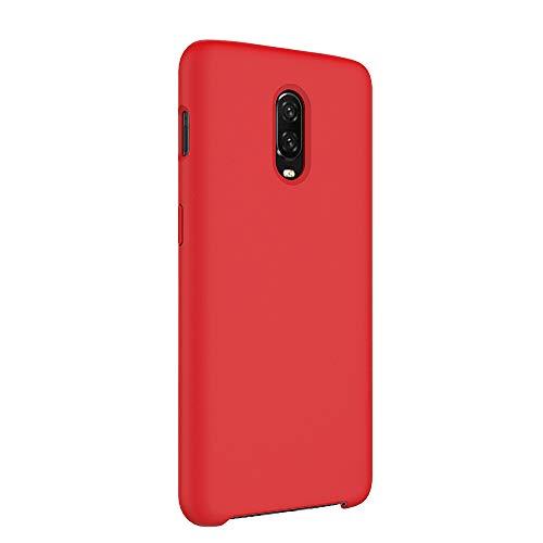 Teryei per OnePlus 6T Custodia Silicone Liquido Cover Colore Multiplo Caso Ultra Sottile Cassa per OnePlus 6T (5, OnePlus 6T)
