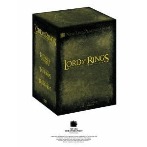 The Lord of the Rings Trilogy - Complete Extended Edition And DVD Exclusive Extras (12 Disc Box Set) [DVD]