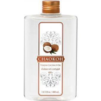 CHAOKOH Fees free 100% Ranking TOP5 Cold-Pressed Virgin Coconut Size Oil ml. 400