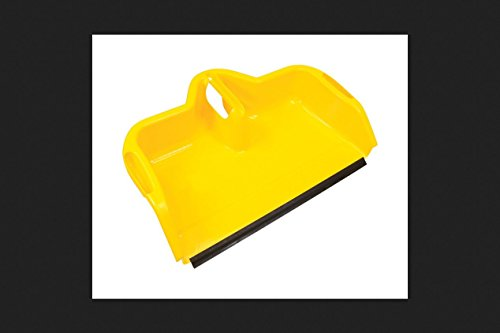 "Quickie Jobsite 24"" Dust Pan, Yellow"