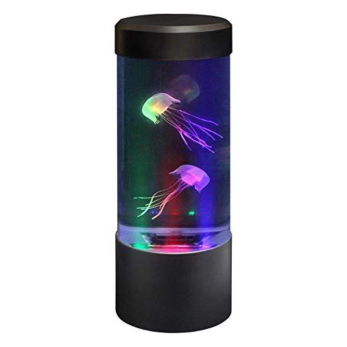 LIGHT Medusas Lámpara Eléctrica Medusas Tanque Acuario -