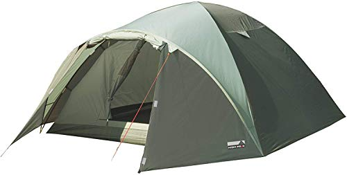 High Peak Nevada 4, Tenda Unisex – Adulto, Oliva Scuro/Oliva Chiaro, 290 x 250 x 130 cm