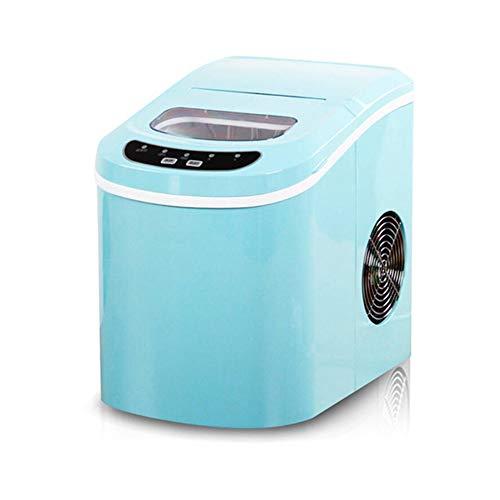 GWX Haushalt Kleine Eismaschine 24 Stunden EIS 12KG Macht Kommerzielle Milch Teeladen KTV Manuelles Wasser Eisautomat Machen,Blau