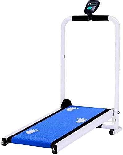 Laufband, kleine multifunktionale Mechanik, mit LCD-Display, Stummschaltgerät für das Heim-Fitnessstudio Cardio Fitness-Übung Faltbares Laufband, Fettverbrennung