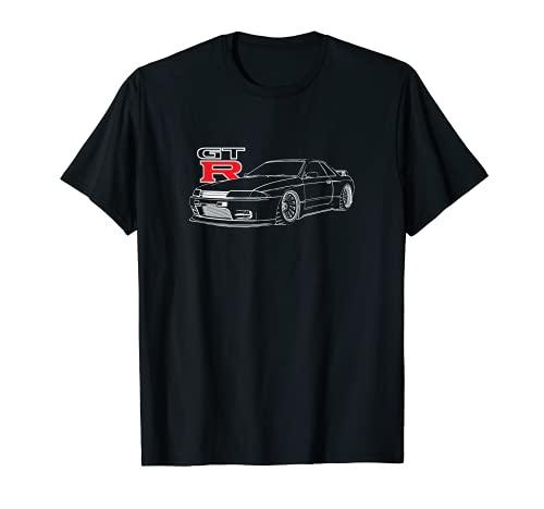 JDM CAR line art R32 Camiseta