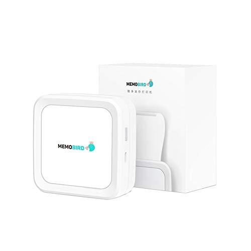 Tragbarer Taschendrucker Mini Bluetooth Drahtloser Mobiler Thermo Etikettendrucker Fotodrucker Drucker Bluetooth-Verbindung für Handyfotos kompakte Taschengröße Einfach Awesome equipment