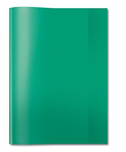 HERMA 7495 - Fundas para cuadernos (DIN A4, 25 unidades), color verde