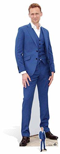 Star Aussparungen Tom Hiddleston Life Größe Pappe, Mehrfarbig
