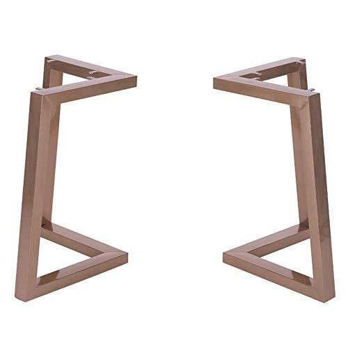 Meubelpoten smeedijzer eettafel benen eenvoudige beugel vergadering tafel tafel benen koffie tafel benen gouden eettafel benen 100 x 75 cm.