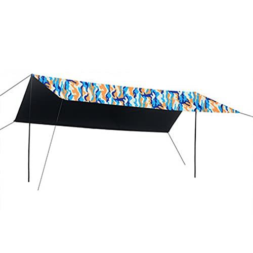 Beach Zelte Sun Shade Shelter Camping Überdachungszelt Wasserdicht regendicht Angeln Sonnencreme und UV-Schutz Großes Pergola-Tuch für den Außenbereich,Camouflage,4.5 * 4.5mi