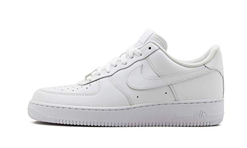 Nike AIR Force 1 '07, Chaussure de Basketball Homme, Blanc, 41 EU