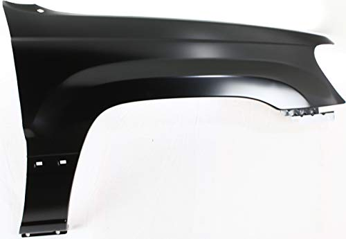 Front Fender Compatible with 1999-2004 Jeep Grand Cherokee Passenger Side