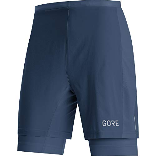 GORE WEAR R5 Short 2in1 Homme, Deep Water Blue, L