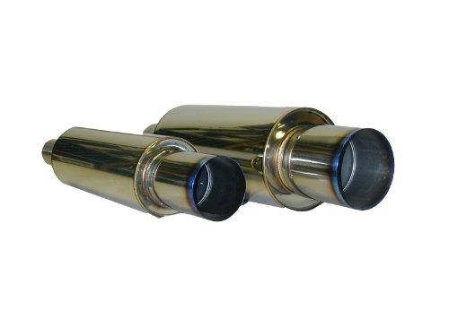 HKS 34005-FK002 Universal Stainless Hi-Power Ti Muffler